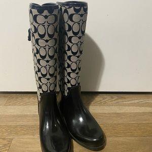 COACH women's boots